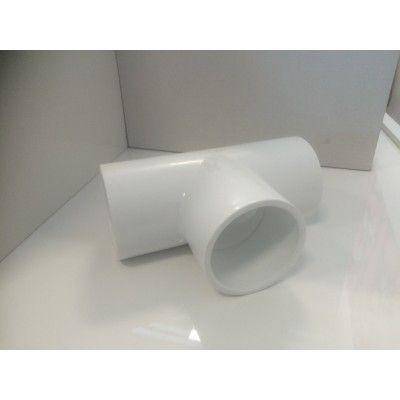 "Té  PVC 1,5"" 48 mm tuyau de spa"
