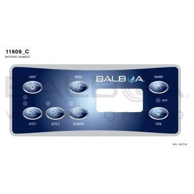 Clavier de commande Balboa ML551