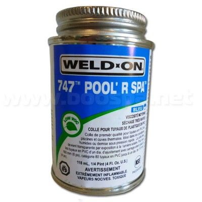 Colle pour tuyau spa (Pipe Cement) Weld-On