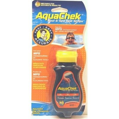 aquaChek Badelettes test MPS + pH + Alc spa et piscine