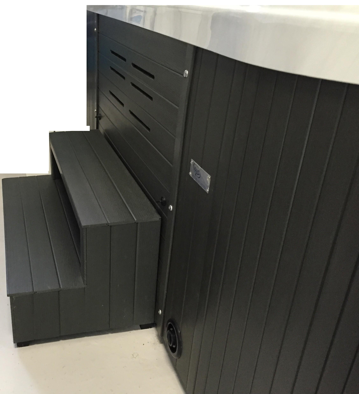 spa exterieur couvert perfect couvert duacier autopatin corten luextrieur et rchauff de noyer. Black Bedroom Furniture Sets. Home Design Ideas