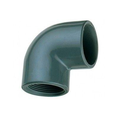 Coude mixte PVC pression à coller /à visser