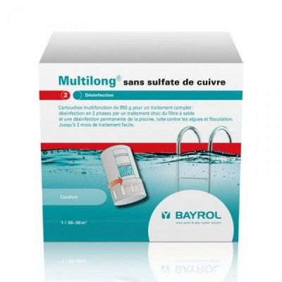 Multilong 3,8 kg / Chlorilong Ultimate 7  bloc - Bayrol