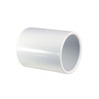 Manchon raccord PVC femelle/femelle 48mm