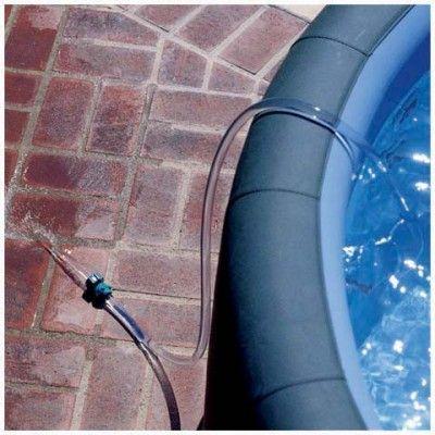 Siphon de vidange pour spa et petite piscine