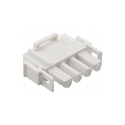Boîtier connecteur Mâle Universel 6.35 mm - MATE-N-LOK