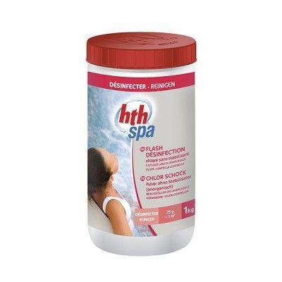 HTH spa Flash désinfection Chlore sans stabilisant