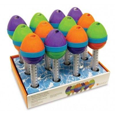 Thermomètre  flottant -œuf couleur