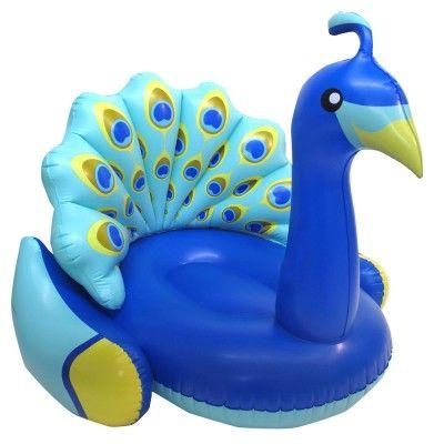Paon gonflable pour piscine - Funshine