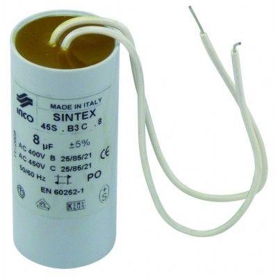 Condensateur pour moteur de travail 8µF