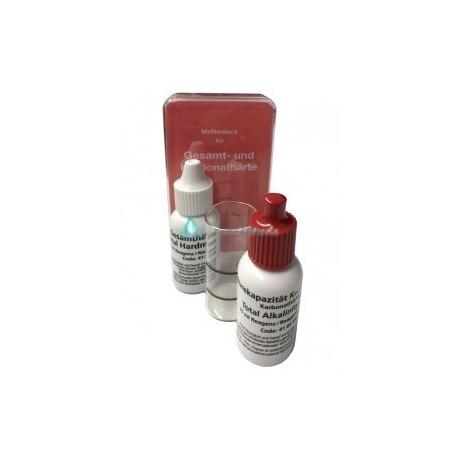 Kit d'analyse dureté totale et alcalinité total (carbonate) GKH-1