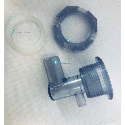 Douille transparente filetée V3 pour jet Wellis
