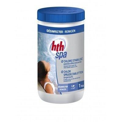 HTH spa Chlore Stabilisé pastilles effervescentes