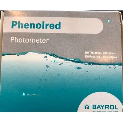 Phenolred recharge pour photometer - Bayrol