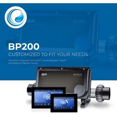 BP200G1 boîtier électronique + réchauffeur + clavier...