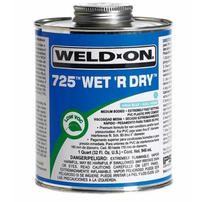 Weld-On® 725™ Wet 'R Dry™