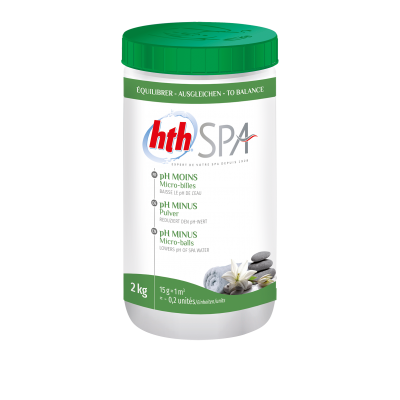 HTH Spa  PH moins 2 KG - Arch Water