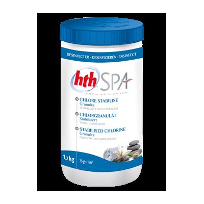 HTH spa Chlore stabilisé granulé 1,2 kg - ARCH WATER