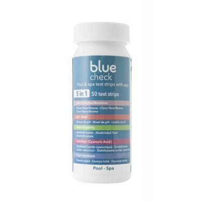 Blue check bandelettes d'analyse 5 en 1