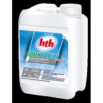hth® - GREEN TO BLUE traitement choc sans chlore