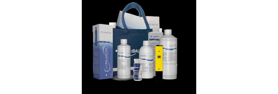 Produits de désinfection naturels sans chlore pour spa, bains à remous