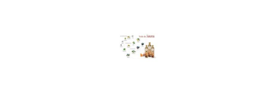Aromathérapie bien être  aux différentes fragrances pour sauna, Hammam