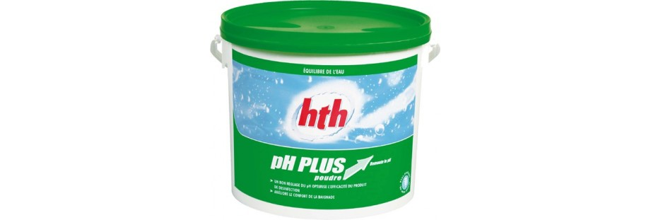 PH plus augment le ph de l'eau
